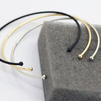 Fashion Unique Gold Plated Monogram Blanks Round Disc Open Cuff Bangle Bracelet