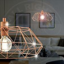 MIA A20930N Design Hänge Leuchte Ø455mm/ Shabby/ Vintage/ Kupfer/ Pendel Lampe F
