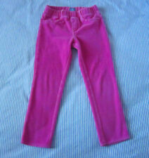 Baby Gap jeggings/leggings/pants, pink, velour, size 4T