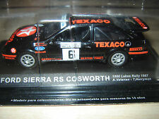 FORD SIERRA RS COSWORTH 1000 LAKES RALLY 1987  IXO 1/43 NUEVO-NEW