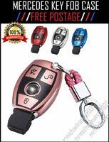 MERCEDES Car Key Fob Case Cover TPU & Chain AMG C E G S M GL CLS CLK G Class
