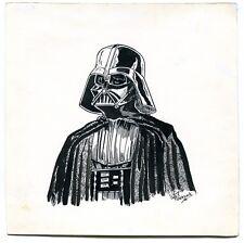 Star Wars Darth Vader Original Pen and Ink Published Art Signed by Bill Eubank