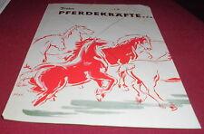 Attic find old Leaflet Castrol Motor Oil Agricastrol Advertising Advertising 1956