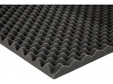 """Professional Egg crate Acoustic Foam. 2.5 X 48"""" X 96"""" (1 Piece) made in the USA."""