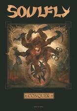 """SOULFLY POSTER """"CONQUER"""""""