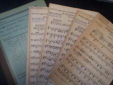 salon orchestra parts K. KOMZAK Fideles Wien