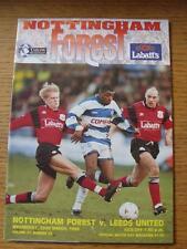 22/03/1995 Nottingham Forest v Leeds United  (No Apparent Faults)