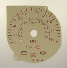 Lockwood Mitsubishi Evolution 7/8/9 CREAM Dial Conversion Kit C078CR