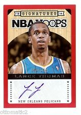 13-14 PANINI HOOPS RED BORDER LANCE THOMAS AUTO AUTOGRAPH #/199