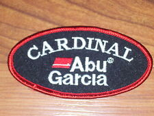 ABU GARCIA CARDINAL FISHING LURE PATCH  ( PUT ON HAT VEST CAP )