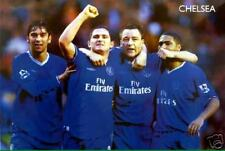 """CHELSEA FC """"FRANK LAMPARD ARM & ARM WITH JOHN TERRY"""" POSTER - Football, Soccer"""