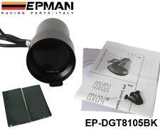 37mm Smoke Tach RPM Tachometer Red Digital Shift Light Style Gauge Pod Black