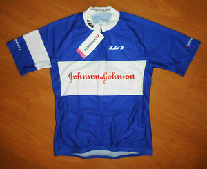 NWT New Louis Garneau Johnson & Johnson Women's S/S Sport Cycling Jersey Size M