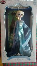 "disney store limited edition first frozen doll snow Queen 17"" elsa"