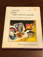 Dizzy Gillespie Dizzy Duke The Count & Me Monterey Jazz Signed Autograph Book
