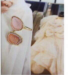 Women's  druzy Agate Ring