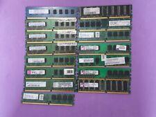 LOTE 15 MEMORIAS RAM (4/2/1 GB)