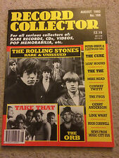 Record Collector no. 168 August 1993 - THE ROLLING STONES / TAKE THAT / THE CURE