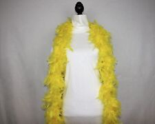 YELLOW Feather Boas Chandelle; 6 Feet 60 grams Retail 9.99 to 14.99; Best Price