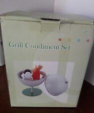 New Supreme Grill Condiment Set