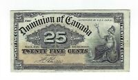25 Cents Kanada 1900 Dominion of Canada