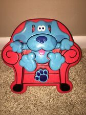 Vintage 1998 Tyco 3D Blues Clues Thinking Chair Plastic Puzzle