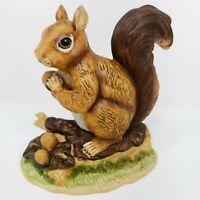 Vintage ROYAL HERITAGE Ceramic Hand Painted Squirrel Figurine