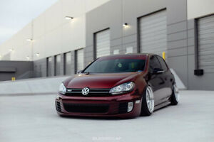 VW MK6 GTI Golf VOTEX REP VOLKSWAGEN SIDE SKIRTS SIDESKIRTS Rockers (10-14)