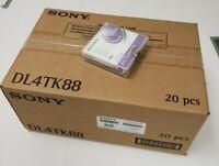 "Lot of 20 Sony DLTtape IV DL4TK88 1/2"" Data Cartridges 80GB"
