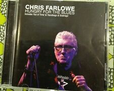 Chris Farlowe - Hungry for the Blues - CD  (Autographed)