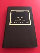 G.W. Bromley & Co. 1914 Atlas Of The Borough Of Manhattan / All Maps Complete