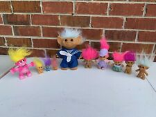 10 Qty LOT OF VINTAGE TROLL DOLLS; RUSS, ONEIDA & More