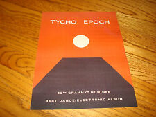 Tycho 2017 Grammy Award ad for Best Dance/Electronic Album for hit 'Epoch'