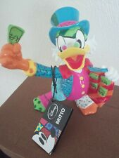 More details for disney britto romero uncle scrooge mcduck figure with original tag