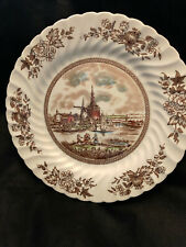 "Johnson Brothers English China Dinner Plate ""Tulip Time"" Multi-Color!"