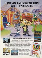 Tiny Toon Adventures 2 TROUBLE IN WACYLAND Nintendo NES video game print ad page