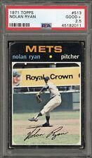1971 Topps #513 Nolan Ryan - PSA GOOD+ 2.5 - New York Mets