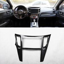 For Subaru outback Legacy 2010-2014 carbon fiber console Navigation panel 1pcs