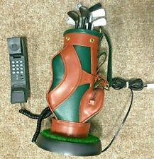 More details for super rare vintage golf bag phone, landline, novelty, us import, fully working