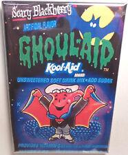 "Scary Blackberry Ghoul-Aid Kool Aid Packet 2""x3"" Fridge or Locker MAGNET"