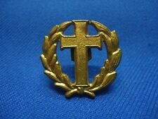 PORTUGAL PORTUGUESE MILITARY CHAPLAIN PRIESTER PADRE VINTAGE BADGE 26mm