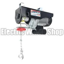 Warrior Power Products 1000kg 240v Electric Hoist with Air Socket