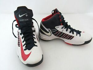 Nike Mens Size 10  Lunar Hyperdunk 2012 USA Olympic White Red Blue 524948-100