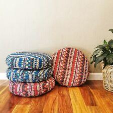 MANGO TREES Bohemian Meditation Cushion Round Floor Cushion 50cm
