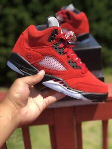 Jordan Retro 5 Raging Bull GS Size 6Y