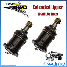 Pair Nissan Navara D40 4WD  Roadsafe Extended Upper Ball Joints 2007 onwards