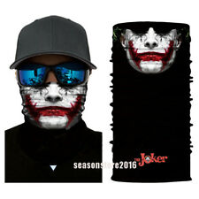 Face Shield Headwear Bandana Fishing Neck Gaiter Scarf Bad Mood Joker Sun Mask