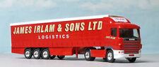 Corgi 86626 1:64, Scania Cab and Curtainside JAMES IRLAM