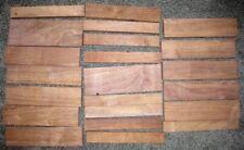 22 Pack Set - Missouri Black Walnut Lumber - Rough Cut - Air Dried