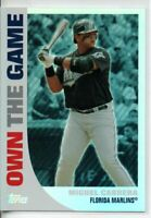 2008 TOPPS MIGUEL CABRERA OWN THE GAME